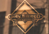 Butterfield_Gold Leaf on Glass